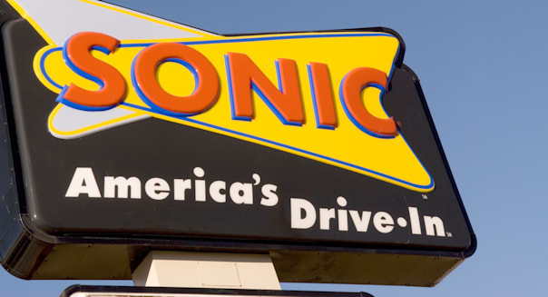 Sonic America's Drive In Restaurant  Sign USA