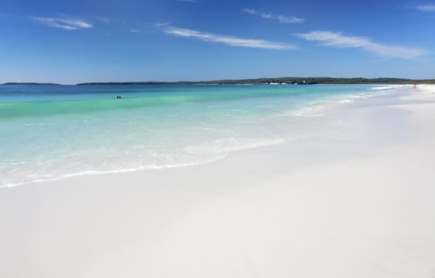 Just another really awful day at Hyams Beach in Jervis Bay, two hours south of