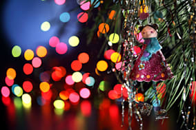 CBT5CE Xmas X Mas decoration toy Christmas Tree rich handmade