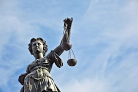 statue of lady justice in front ...