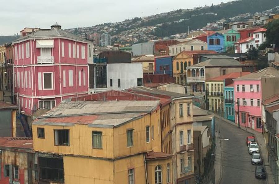 The hills are steep, but walking up a few of them is a good excuse to eat more ceviche and