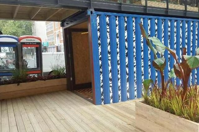 Would you pay £35k to live in a shipping container?