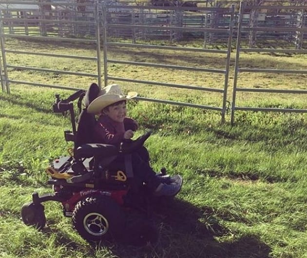 Beau isn't needing his wheelchair as much as he once used to, now that he's getting regular