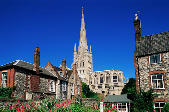 England, East Anglia, Norfolk, Norwich, Norwich Cathedral