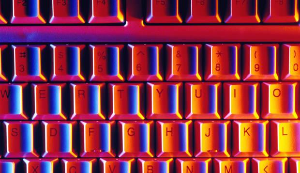 Computer keyboard HZ