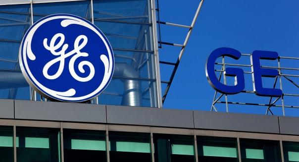The headquarter of GE Money Bank, sign Prague Czech Republic