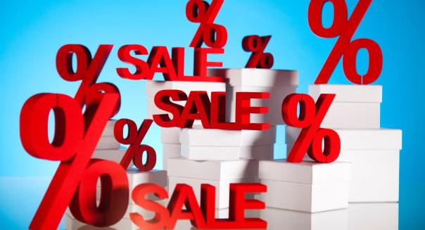 Sale, percent concept