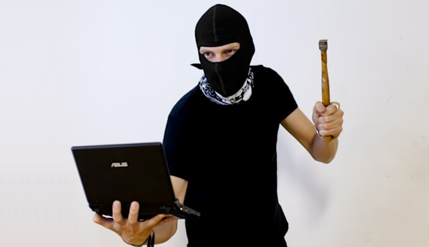 Hacker Stock Photo
