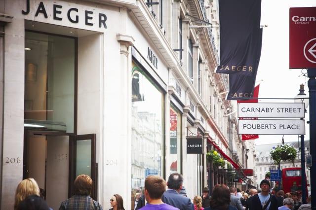 Carnaby Street, London, England, UK