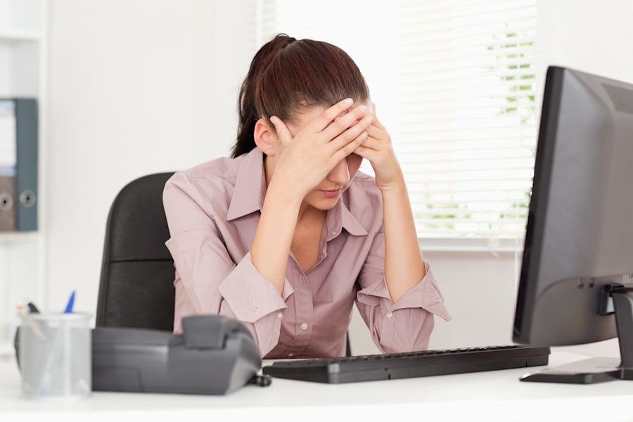 Just 32 percent of workers surveyed leave their desks long enough to reach the 10,000 step target recommended...