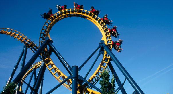 ANG-87868 : Liseberg roller coaster ; Gothenburg ; Sweden
