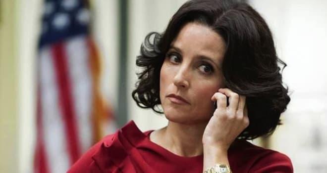 la-et-veep -- VEEP episode 9 (season 2, episode 1): Julia Louis-Dreyfus. photo: Lacey Terrell