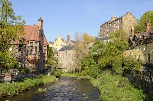 Dean Village in Edinburgh