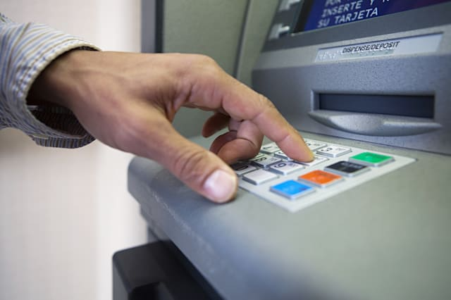 Ram raiders use JCB to steal cash machine