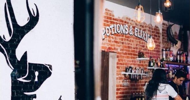 the lockhart, harry potter, harry potter bar, harry potter-themed bar