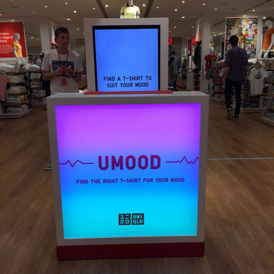Try the UMood out for yourself at the UNIQLO Pitt Street store in