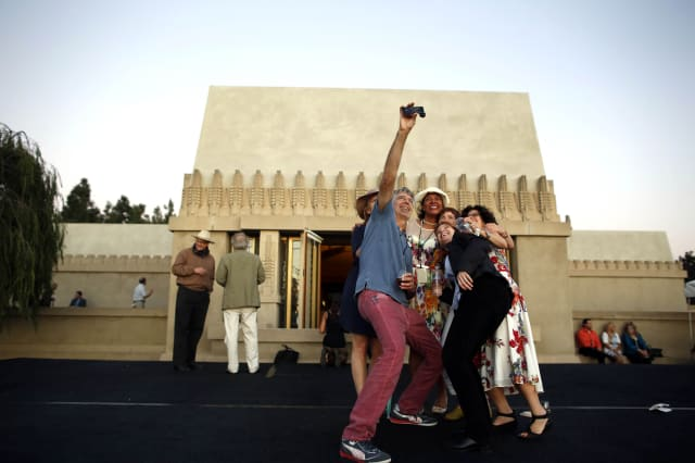 Opening of the Hollyhock House