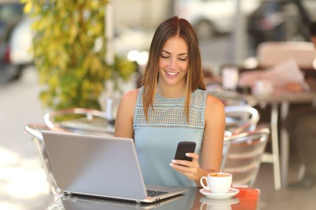 Smartphone budgeting app