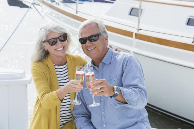 The UK's richest pensioners