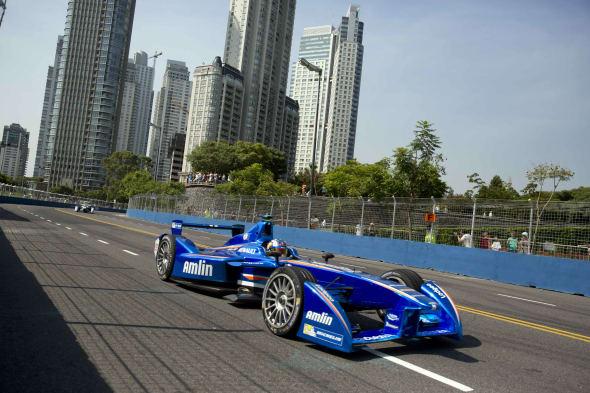 Argentina Formula E Auto Racing