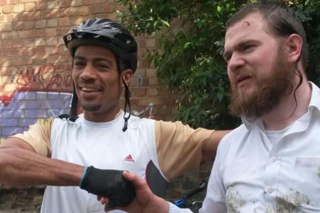 Eli Heilpern cyclist saved drowning hero River Lea
