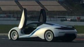 BAIC electric supercar