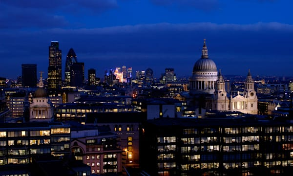 City of London Skyline at dusk