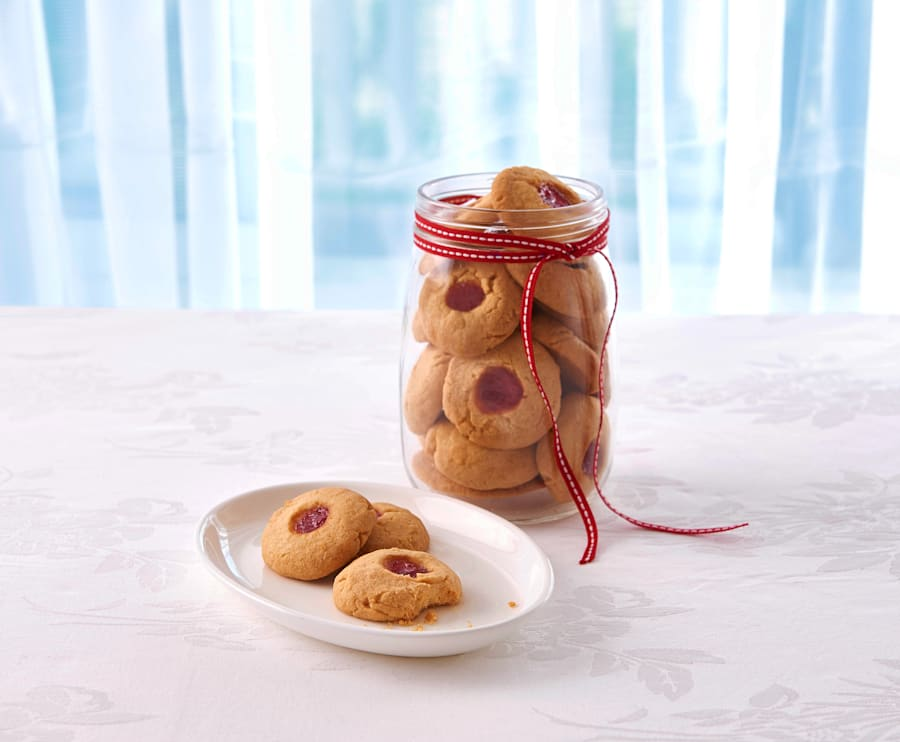 The kids can play around with different shapes using cookie