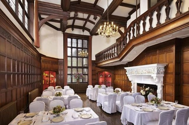 A reception room at Bawdsey Manor