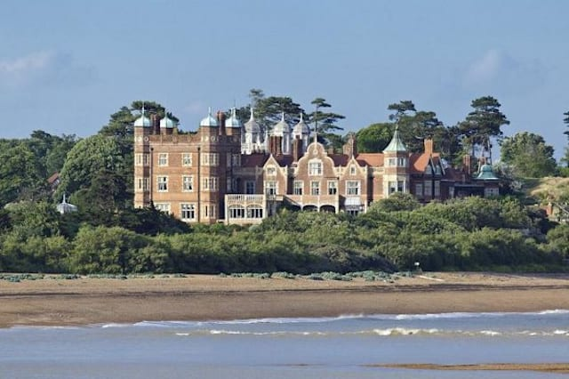 Bawdsey Manor from the sea
