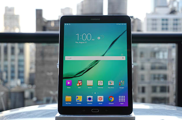 Samsung Galaxy Tab S2 review: Insanely thin, but not much of