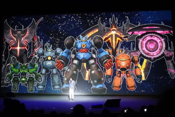 スーパーロボットが活躍する新作...