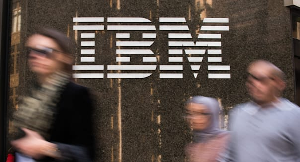 IBM Corp. Exteriors Ahead Of Earnings Figures