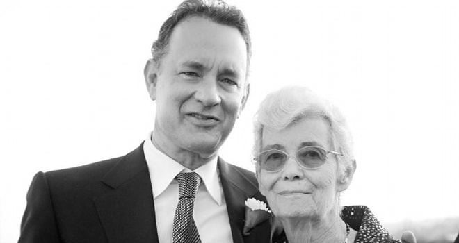tom hanks, mom, mother, Janet Marylyn Frager