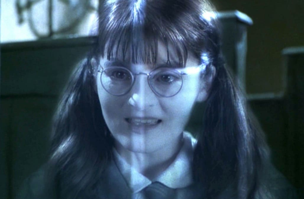 Here's what Moaning Myrtle from 'Harry Potter' looks like ...