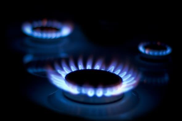 AG7XCR Three Gas ring night light gassing blue