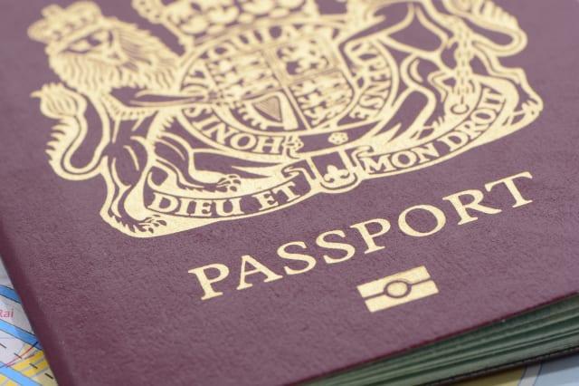 Biometric United Kingdom Passport