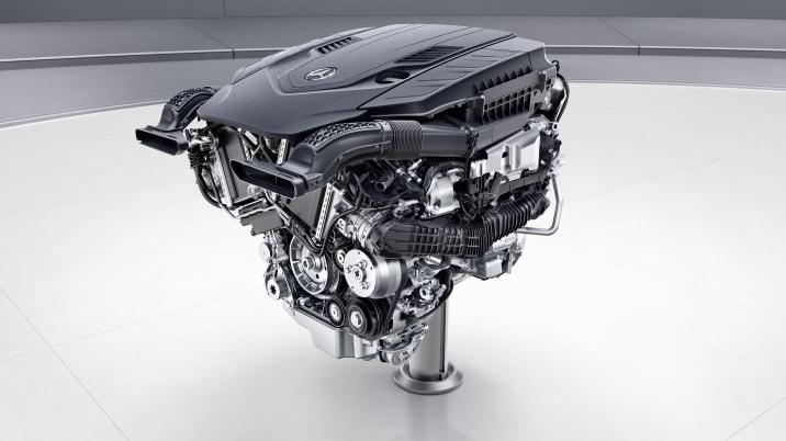 Mercedes-Benz V8-Biturbo-Benzinmotor, M176 ;  Mercedes-Benz V8-biturbo engine, M176;