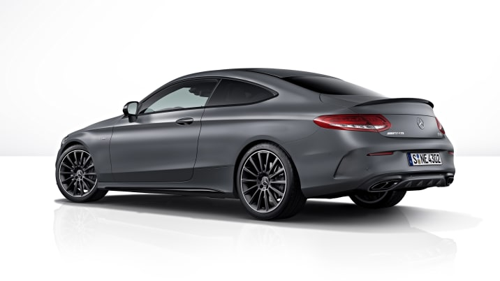 2018 Mercedes-AMG C43 Coupe with AMG Performance Studio Package (European model shown)