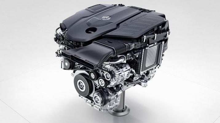 Mercedes-Benz Sechszylinder-Dieselmotor, OM656 ;  Mercedes-Benz six-cylinder diesel engine, OM656;