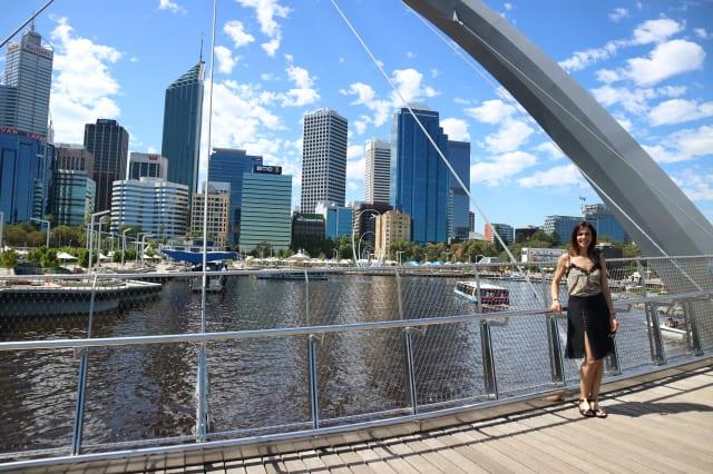 Julia Bradbury in Perth