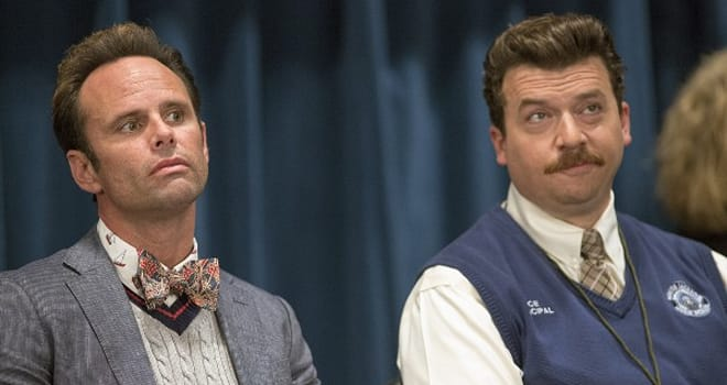 Walton Goggins and Danny McBride in HBO's VICE PRINCIPALS