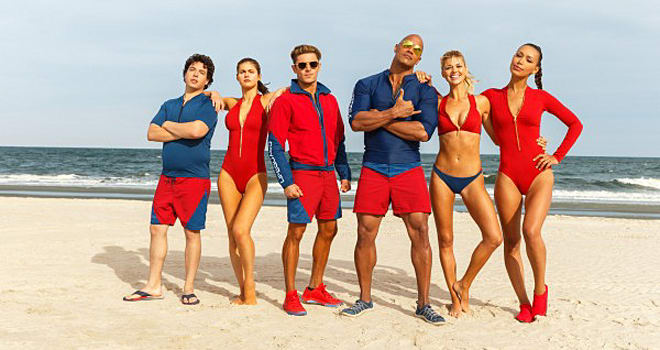 The 'Baywatch' Trailer Is All Sexy, Glorious, Slow-Motion Cheese
