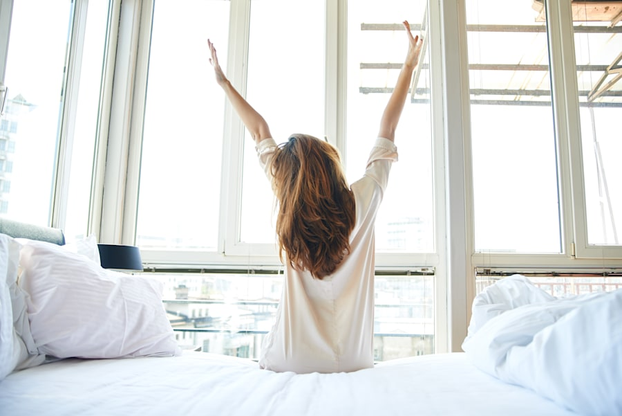 Getting up even 20 minutes earlier means you can enjoy a slower morning and ease into the
