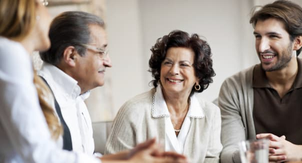 the money talk with your parents Talking to your aging parents about money isn't easy.