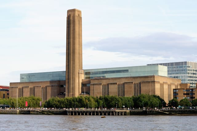Tate Modern (the disused Bankside power station) London, England, UK, Europe in the late afternoon