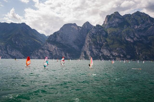 Windsurfing, Lake Garda