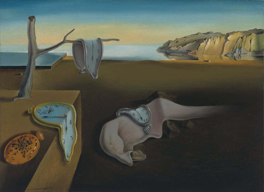 Salvador Dalí, 'The Persistence of Memory',