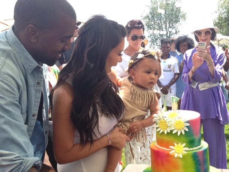 See the adorable photos from North's first birthday