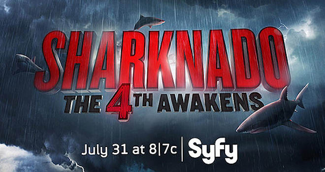 sharknado, sharknado 4, sharknado: the 4th awakens, the 4th awakens